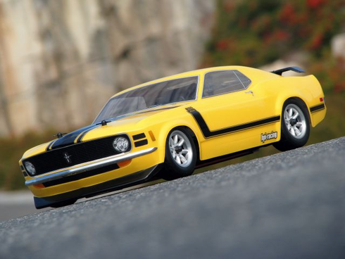 1970 FORD MUSTANG BOSS 302 Custom Painted RC Touring Car / RC Drift Car Body 200mm (Painted Body Only)