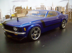1970 FORD MUSTANG BOSS 302 Redcat Racing Gas RTR Custom Painted Nitro RC Cars Now With 2.4 GHZ Radio System!!!