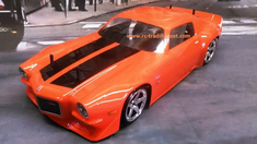 1971 Chevrolet Camaro Z28 Custom Painted RC Touring Car / RC Drift Car Body 200mm (Painted Body Only)
