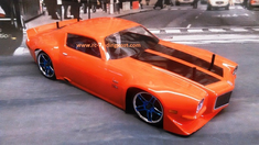 1971 Chevrolet Camaro Z28 Redcat Racing EP Brushless RTR Custom Painted Electric RC Street Cars Now With 2.4 GHZ Radio AND 2S Lipo Battery!!!