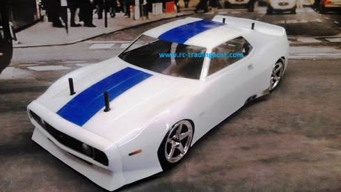 1971 J-71 Vintage Trans-Am VTA Custom Painted RC Touring Car / RC Drift Car Body 200mm (Painted Body Only)