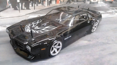 1971 Pontiac Firebird Trans Am VTA Custom Painted RC Touring Car / RC Drift Car Body 200mm (Painted Body Only)
