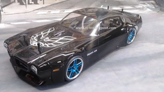 1971 Pontiac Firebird Trans Am VTA Redcat Racing EP Brushless RTR Custom Painted Electric RC Street Cars Now With 2.4 GHZ Radio AND 2S Lipo Battery!!!