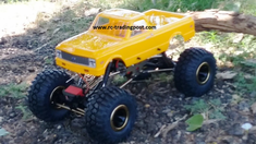 1972 Chevy C10 Redcat Everest 10 4X4 1/10th Electric RC Rock Crawler Ready To Run Custom Painted With 2.4Ghz Radio And Waterproof Electronics