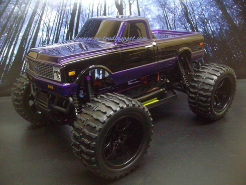 1972 Chevy C10 Redcat Volcano EPX PRO Brushless 4X4 1/10th 40+MPH Electric RC Monster Truck Ready To Run Custom Painted With 2.4Ghz Radio, Waterproof Electronics, And 2S Lipo Battery!!!