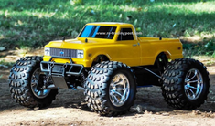 1972 Chevy C10 Redcat Volcano S30 4X4 1/10th 40+MPH Nitro RC Monster Truck Ready To Run Custom Painted With 2.4Ghz Radio System