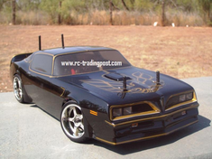 1978 Pontiac Firebird Custom Painted RC Touring Car / RC Drift Car Body 200mm (Painted Body Only)