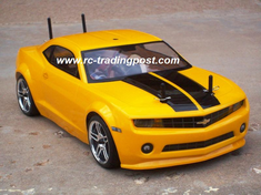 2010 CHEVROLET CAMARO Redcat Racing Gas RTR Custom Painted Nitro RC Cars Now With 2.4 GHZ Radio System!!!