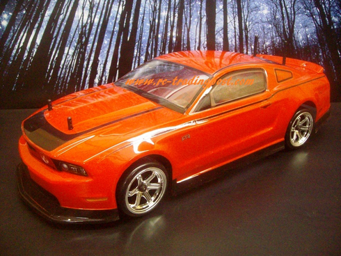 2011 Ford Mustang Custom Painted RC Touring Car / RC Drift Car Body 200mm (Painted Body Only)