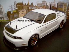 2011 Ford Mustang Redcat Racing EPX RTR Custom Painted Electric RC Drift Cars Now With 2.4Ghz Radio!!!
