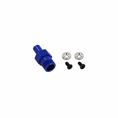 23mm Aluminum Front Wheel Hex and Nuts ~