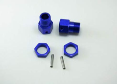 23mm Wheel Mount with Nut and Shaft.
