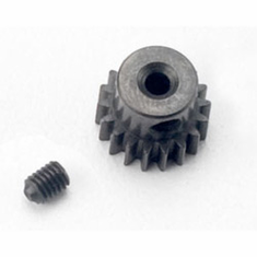 48 Pitch Pinion Gear, 18T with Setscrew: 1/16 by Traxxas