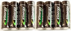 8 - AA Alkaline Batteries