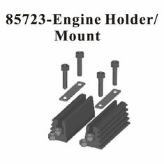 Aluminum Adjustable Engine Mount ~