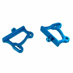 Aluminum Adjustable Wing Mounts, Blue