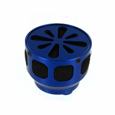 Aluminum Air Filter, Blue ~