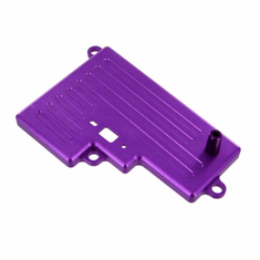 Aluminum Battery Box Cover, Purple
