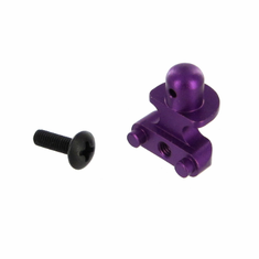 Aluminum Front Body Mount, Purple