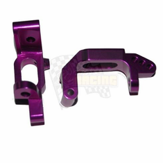 Aluminum front C hub (2pcs)(purple)(Same as 102210)