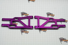 Aluminum front lower arm (2pcs)(purple)(Same as 106619)