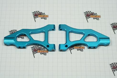 Aluminum Front Lower Arms, Blue (2pcs) ~