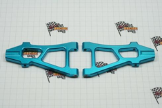 Aluminum front lower arm (2pcs)(blue)(Same as 188819)