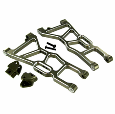 Aluminum Front Lower Suspension Arms and Shock Mount Tabs ~