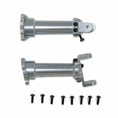 Aluminum Front or Rear Axles  (Left+Right) with Screws ~