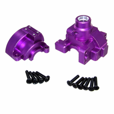 Aluminum Front/Rear Differential housing (purple)