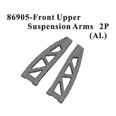 Aluminum Front Upper Suspension Arm 2pcs ~