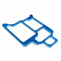 Aluminum Radio Tray, Blue (optional style)