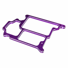 Aluminum Radio Tray, Purple