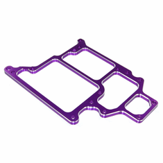 Aluminum Radio Tray, Purple (optional style)