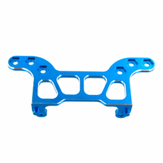 Aluminum Rear Body Post Plate, Blue