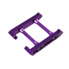 Aluminum Rear Chassis Brace, Purple