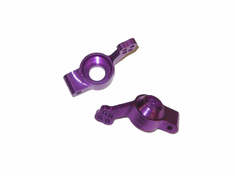 Aluminum Rear Hub Carrier, purple(2pcs) ~