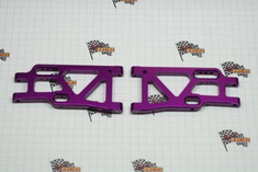 Aluminum rear lower arm (2pcs)(purple)(Same as 106621)