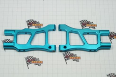 Aluminum rear lower arm (2pcs)(blue)(Same as 166621)