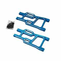 Aluminum Rear Lower Suspension Arms, Blue (2pcs)
