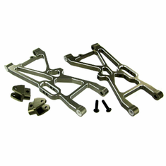 Aluminum Rear Lower Suspension Arms (L/R) 2pcs with Suspension Tab ~
