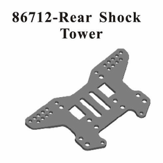 Aluminum Rear Shock Tower ~