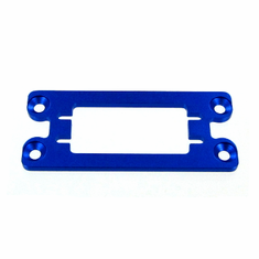 Aluminum Servo Top Mount, Blue