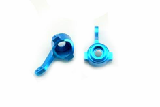 Aluminum Steering Knuckle, Blue ~