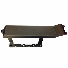 Aluminum upgrade center bottom skid plate