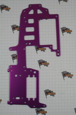 Aluminum upper plate (purple)
