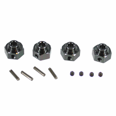 Aluminum Wheel Hex with Pins ~