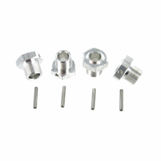 Aluminum Wheel Hub With Pin (4pcs)