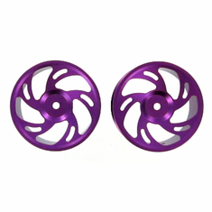 Aluminum Wheels, 2pcs (Only for on-road vehicles)