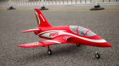 Avanti 70MM Red Plug N Play Brushless RC Airplane